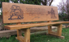 JOHN POYER MEMORIAL BENCH, PEMBROKE